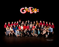 Guys and Dolls - Cast Photo