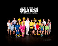 You're a Good Man, Charlie Brown - Cast Photo